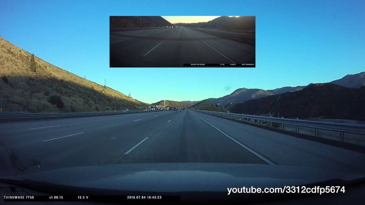 Driving from Los Angeles to San Diego Interstate 5, 4th of July Fireworks