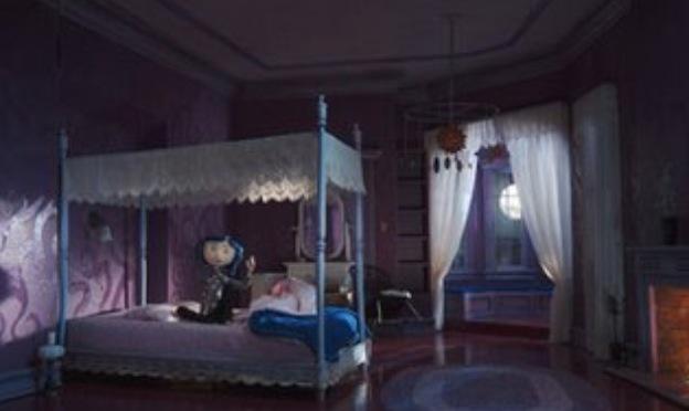 Girl Bed Room Idea Coraline Inspired Kid S Room