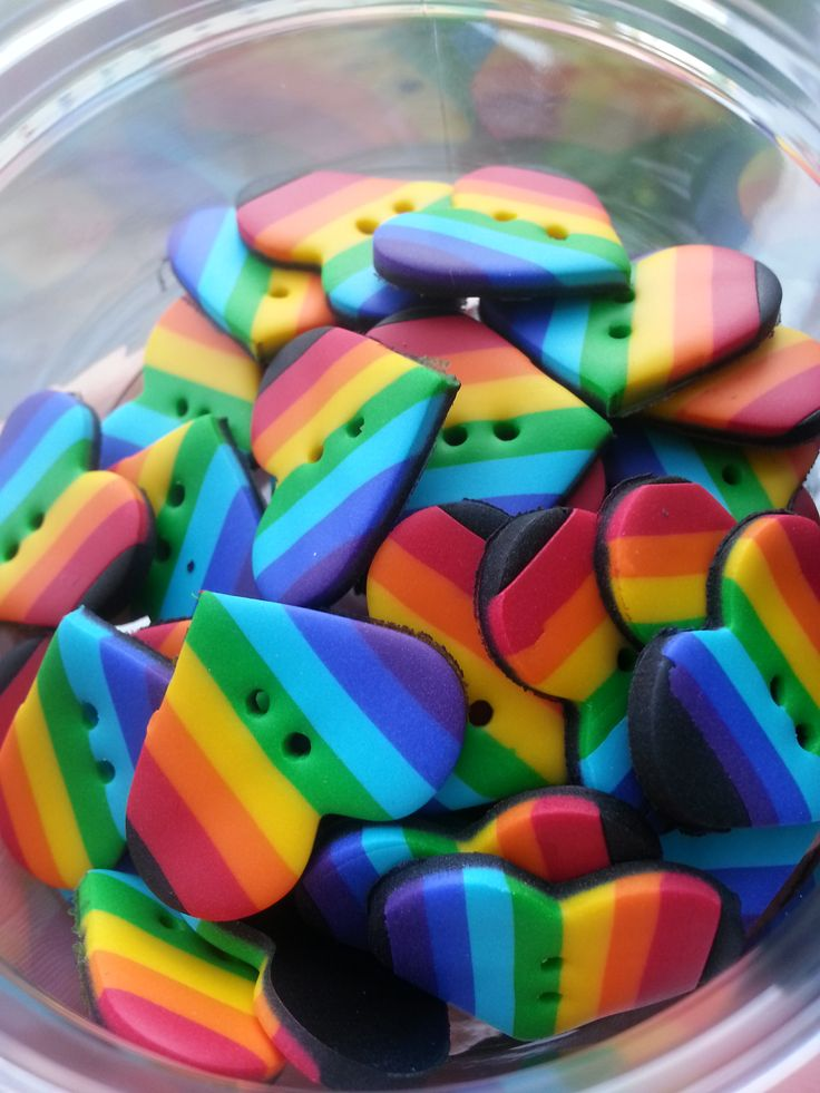 #rainbow hearts #regnbue hjerter