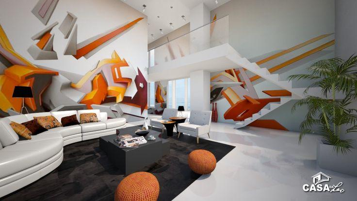 Casa da Leo: Daim Graffiti Room