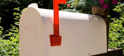 Follow these steps to paint a metal mailbox.