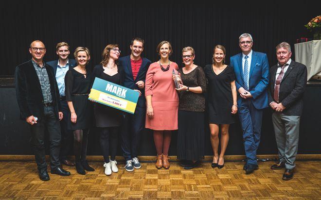 Van de vijf waarden die de Belgische verfproducent BOSS paints in het vaandel draagt, komt rendement op de laatste plaats. Mens, klant, kwaliteit en milieu...