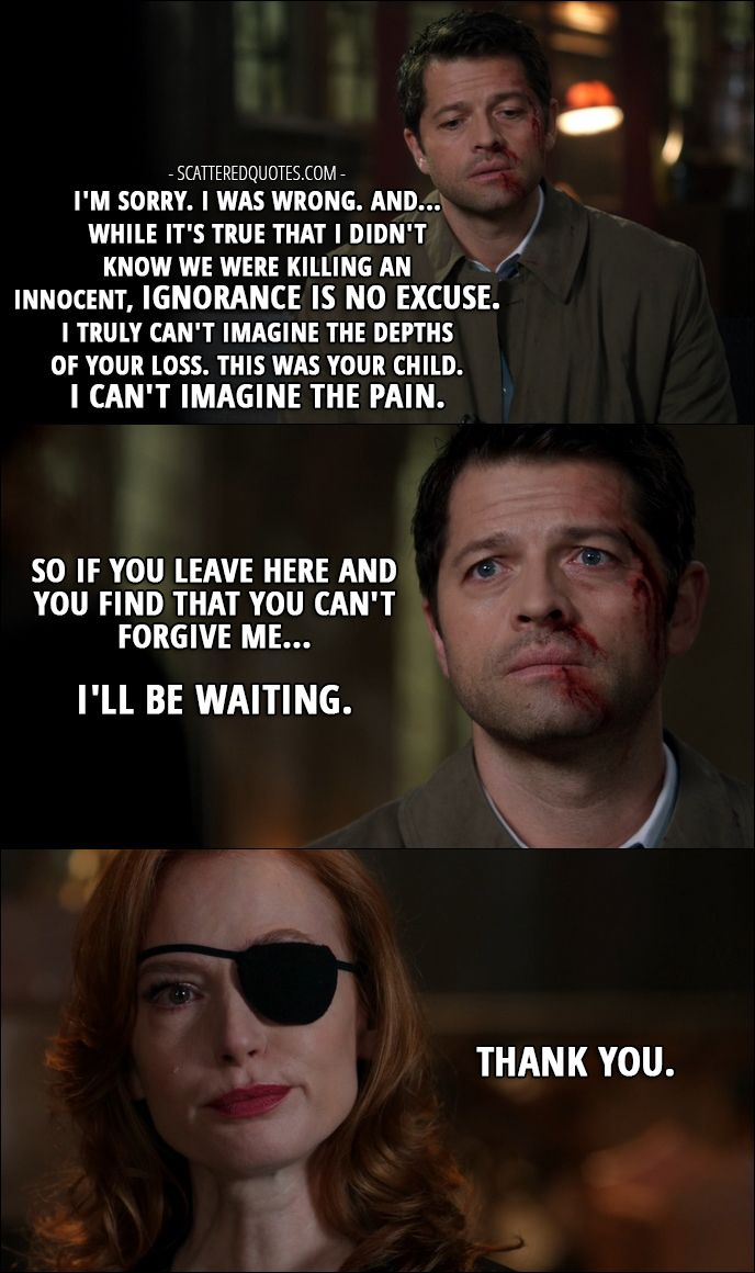 12 Best Supernatural Quotes From Lily Sunder Has Some Regrets 12x10 Best Supernatural