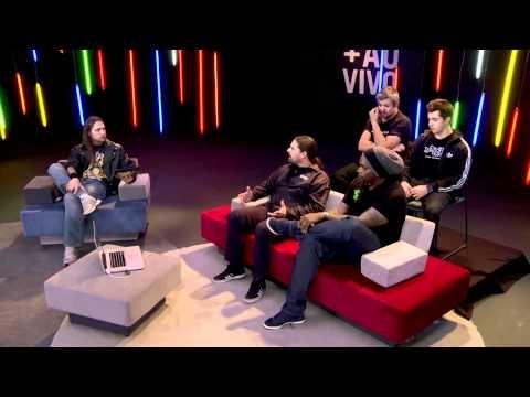 Entrevista no Google+ Hangouts, com a Banda Sepultura no programa +aoVivo