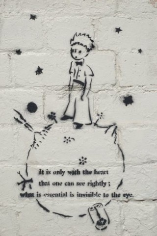 Image result for the little prince quotes it is only with the heart tumblr