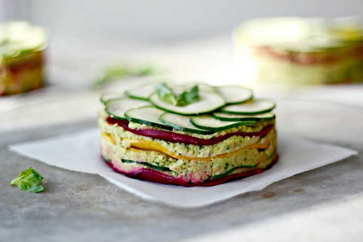 Delicious Raw Beet Lasagne!