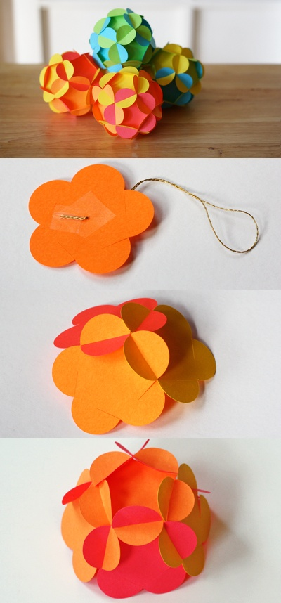 3D Paper Ornament link to video https://www.youtube.com/watch?v=btPi4HaYWas