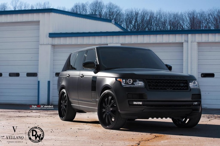 matte black 2013 Range Rover