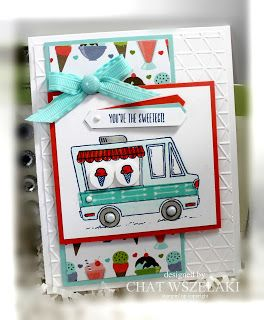 Stampin' Up Tasty Trucks, Me, My Stamps and I