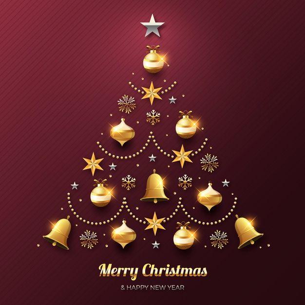 Happy New Year 2020 Merry Christmas Wallpaper Fondos De Pantalla De Feliz Navidad Fondo De Pantalla Navidad Arbol De Navidad Dorado Beautiful merry christmas wallpaper