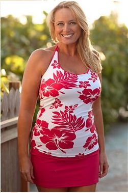 "Hapari Swimwear Post Mastectomy Swimsuit    Hapari sells post mastectomy swimsuits with Secret Pockets!!!    Hapari Swimwear's suits have several body shaping ""Secrets""! From Tummy Tuks to 3 ways to wear to Secret Pockets for silicone breast inserts, Hapari is sure to make you feel beautiful and confident in a swimsuit."