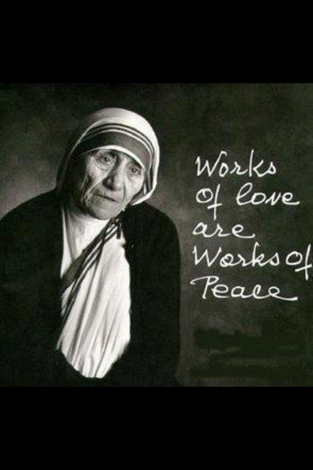essay on mother teresa an angel of love Mother teresa, self: mother teresa mother teresa was born on august 26, 1910 in Üsküb, ottoman empire as agnes gonxha bojaxhiu she died on september 5, 1997 in.