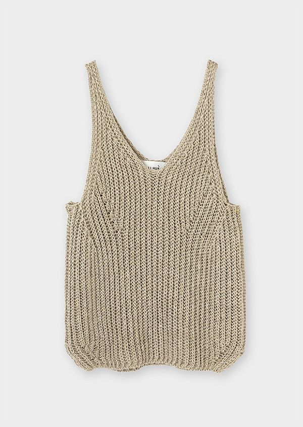 Easy Knit Top Pattern : 25+ best ideas about Knitted tank top on Pinterest Summer knitting, Summer ...