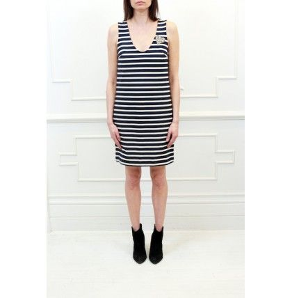 Markus Lupfer - Nautical Stripe Dress (With Heart)