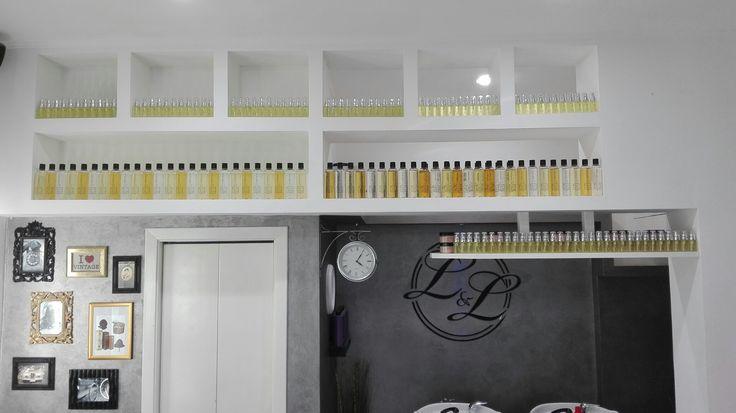 THE SALON..esposizione prodotti Music for Hair. TOP cosmetic