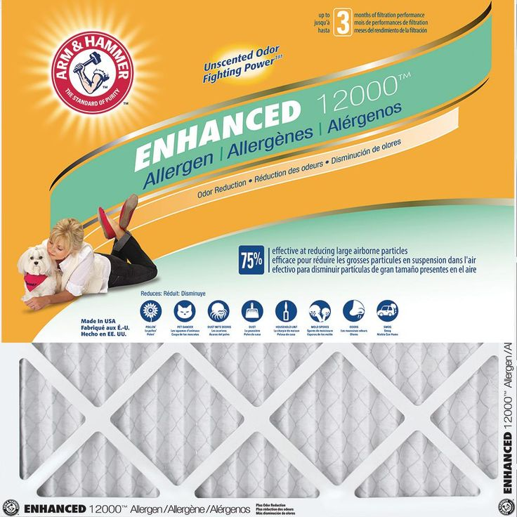 Arm and Hammer Air Filter 4 Packs $19.99!
