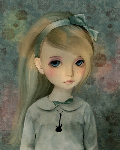 """Lorraine"" by Louise Robinson (aka Art & Ghosts)"