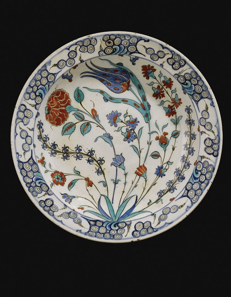 An Iznik Polychrome Dish, Turkey, Circa 1575