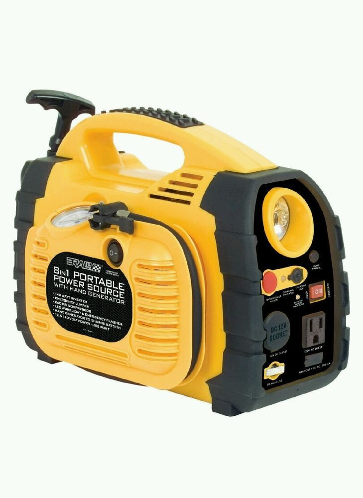 NEW! Portable Power Generator emergency Jumpstart camping vehicle source AC/DC in Consumer Electronics, Vehicle Electronics & GPS, 12-Volt Portable Appliances | eBay