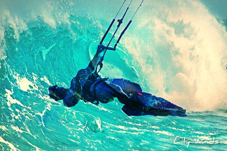 Order Canvas Print - Kiteboarding Pictures