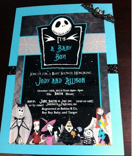 This is my DIY baby Shower!  More to come by Allyson Prince!!!!   The Nightmare Before Christmas Baby Shower: DIY Nightmare Before Christmas Baby Shower Ideas!