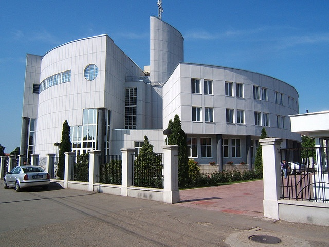 Emanuel BC - Oradea, Romania- I've been inside already, its big! I have memories of sitting in on a sunday school class when I was maybe 11? Had no idea what was being said, and it seemed like everyone was staring at the American girl!
