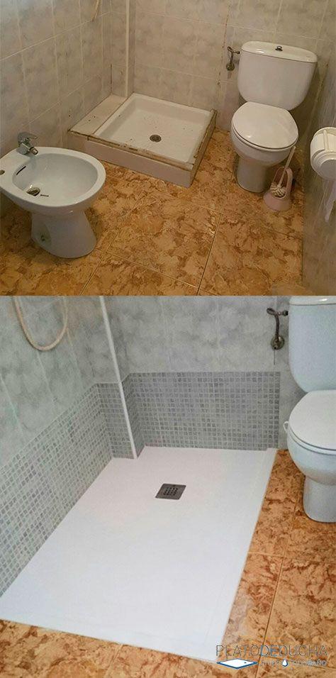 Para las personas mayores los Platos de ducha # ...