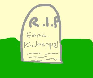 RIP Edna Krabappel