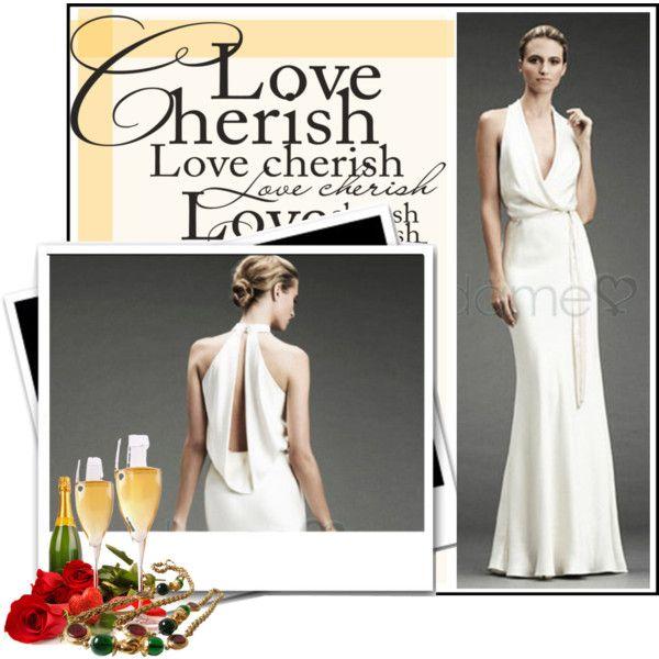 Wedding dress: http://www.dameo.de/aussen-neckholder-etui-mittelgroesse-strand-sittsames-bodenlanges-brautkleid-p43.html