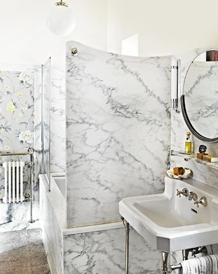 Expert guide to bathroom lighting // ambient lighting: Interior Design, Decor Trends, Bathroom Lighting, Traditional Style, Marbles, Marble Bathrooms, Bathroom Ideas