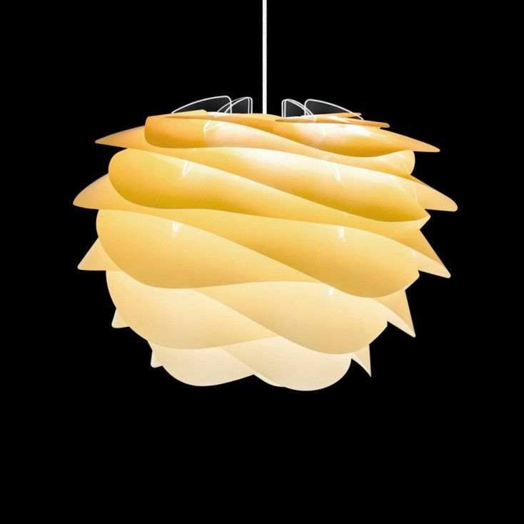 The Vita Sahara mini Carmina lamp shade is designed in happy sunshine  tones. Carmina is inspired by the soft waves of the slow moving ...