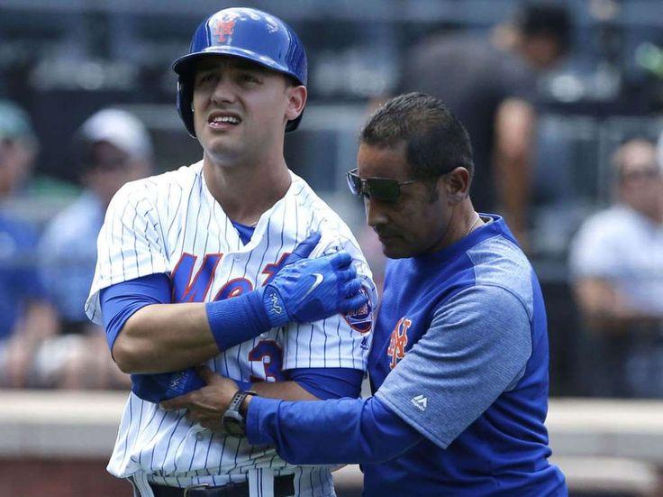 Mets' Conforto opts for surgery after brutal shoulder injury  -  September 3, 2017