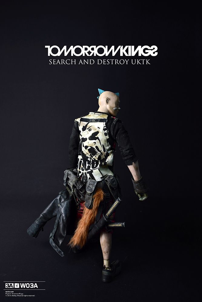 Search and Destroy UK Tomorrow King by ThreeA toys