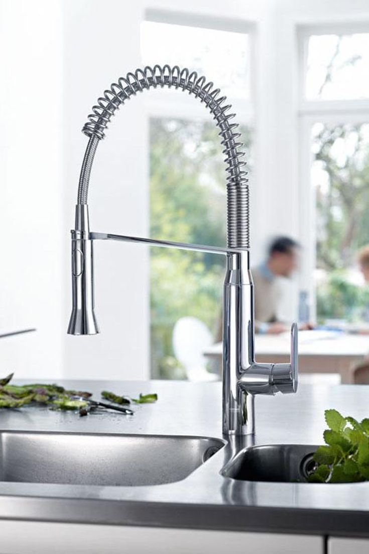 96 Best Images About Kitchen Faucets On Pinterest