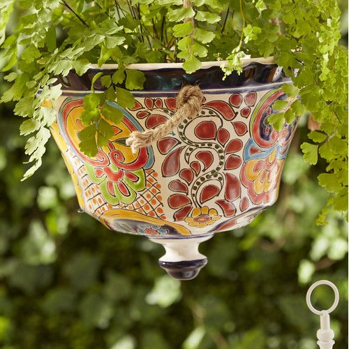 Outdoor Pottery Planters