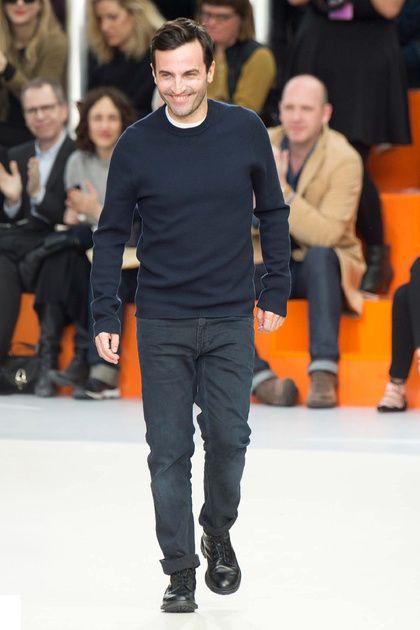 Nicolas Ghesquière at Louis Vuitton Autumn-Winter 2015 Fashion Show #PFW #LouisVuitton #RTW #AW15 #LVMH