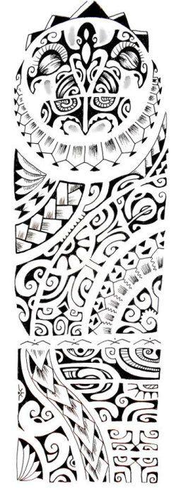 Tatouage Polynésien » Motif Dessin Tatouage