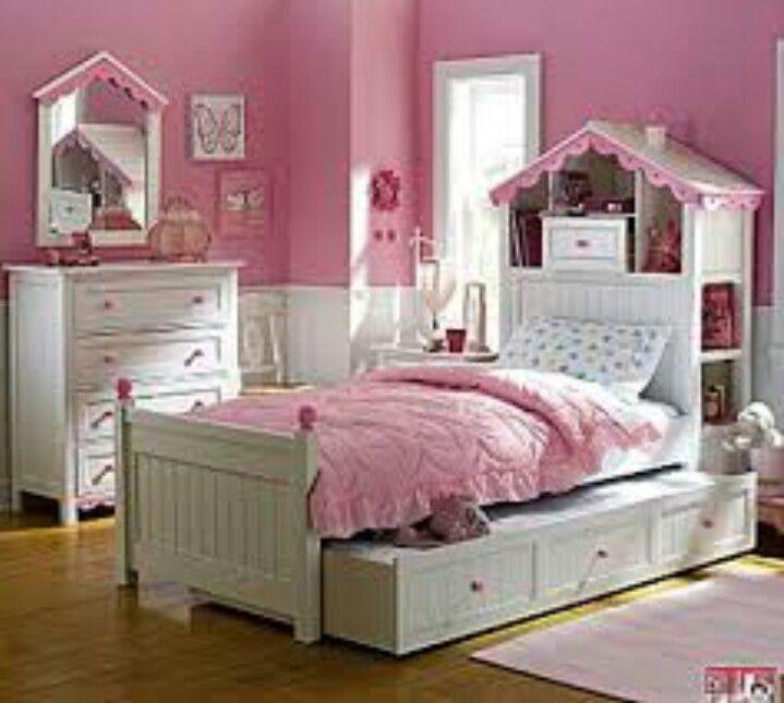 137 best Girls bedrooms images on Pinterest | Child room, Bedroom ...
