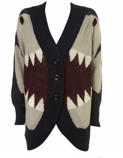 Last shark thing I promise...okay I'm probably lying...BUT LOOK HOW COOL THIS SHARK SWEATER IS!