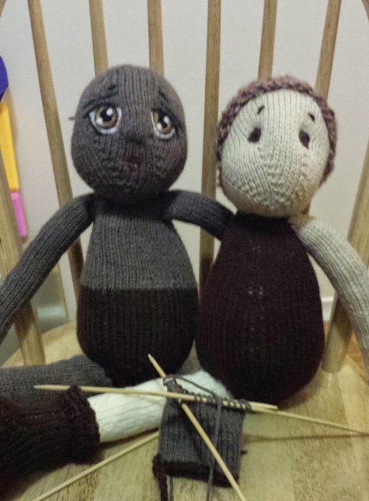Colorful Knitting Patterns For Rag Dolls Vignette - Decke Stricken ...