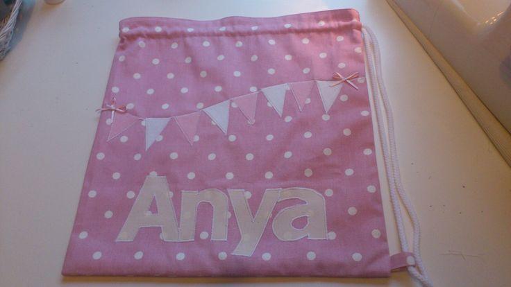 Anya drawstring bag