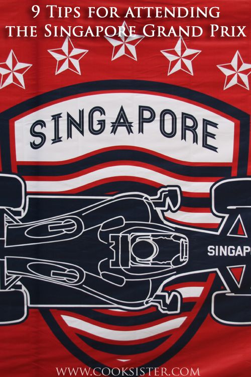 Nine tips to make the most of your visit to the amazing Singapore Formula 1 Night Race  |  www.cooksister.com
