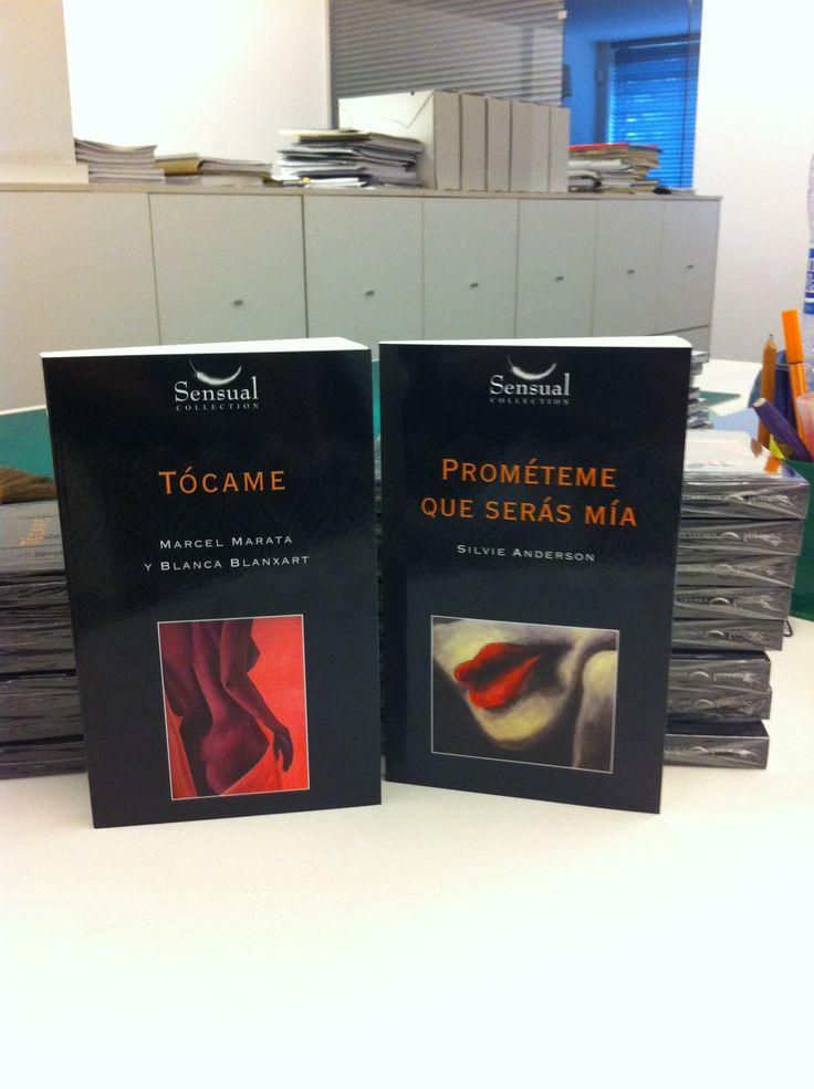Empiezan a llegarnos ejemplares de #SensualCollection a la oficina, ¡han quedado muy bien!