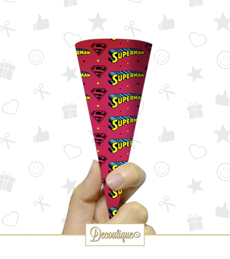 CONI PORTA RISO / CONFETTI / CARAMELLE #caramelle #confetti #riso #party #festa #famiglia #colors #superman #hero #supereroe #marvel #baptism #battesimo #compleanno #idearegalo #idea  Codice: CPP015 Prezzo: 0,80 € Cad. Spedizione in Italia: 6,00 €  Per prenotare il tuoi Coni contattaci in privato o all'indirizzo email info@decoutique.it. Personalizza i tuoi Coni con lo stile più adatto a te. Affidati a noi per la tua proposta grafica!