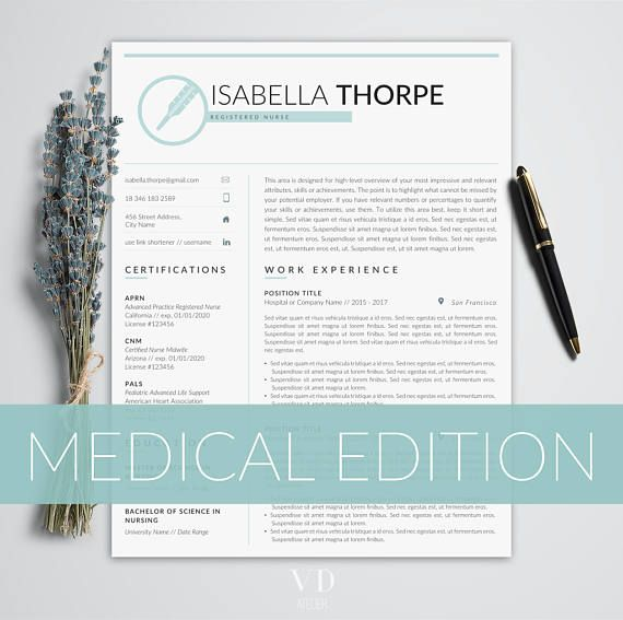 12 Best RN Resume Images On Pinterest
