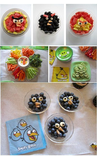 Angry Birds Fruits and Veggies