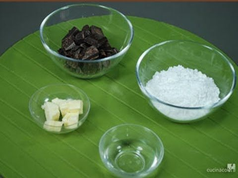 Video ricetta Glassa al cioccolato - ARTE BIANCA - YouTube