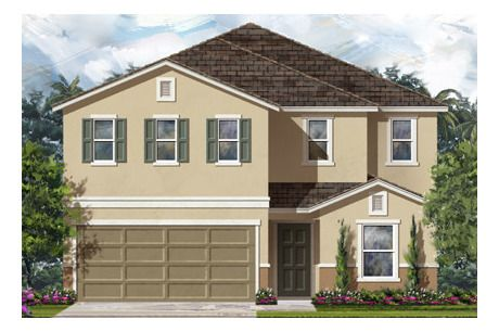 Plan 2403 by KB Home at Victoria Preserve
