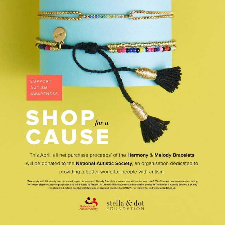 Autism Awareness Campaign - During April, we are supporting a really worthy cause. We are raising money for National Autistic Society!  Net proceeds from these two beautiful bracelets will be going straight to this amazing cause.  The Harmony bracelet is £16, and the Melody (the one with tassels) is £18. I am taking preorders right now, and they will be here for you in the first week in April! Who would like one?  Reply to this email and we can chat about which ones you would like.  I've…