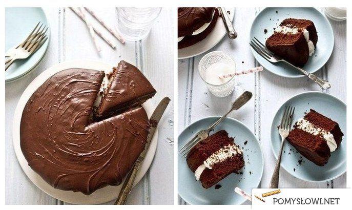 Prosty przepis na ciasto czekoladowe - Pomyslowi.net